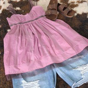 Ann Taylor LOFT Lined BabyDoll Dress/Tunic